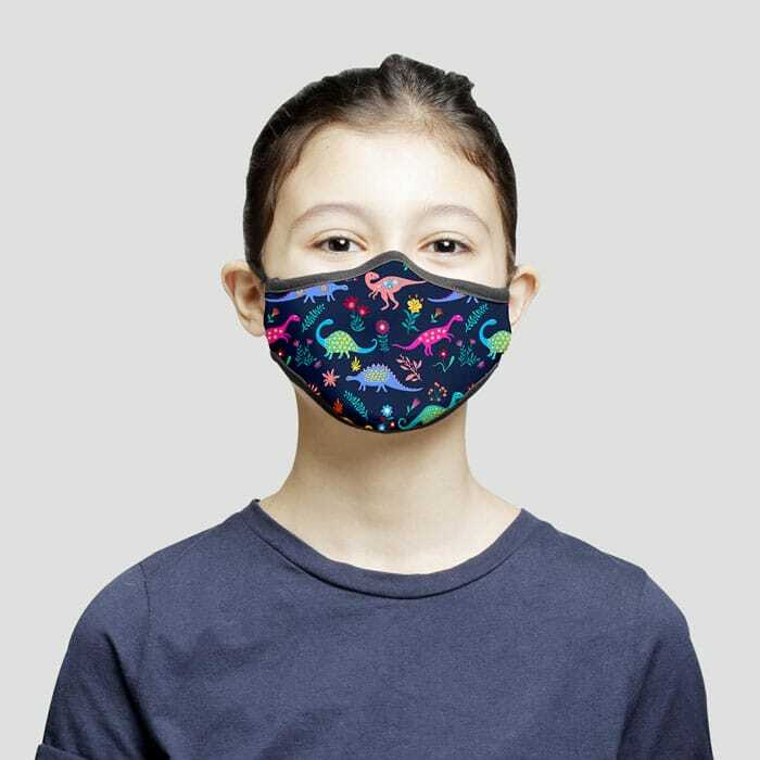 Face Mask Trumask Dinosaur For Kids