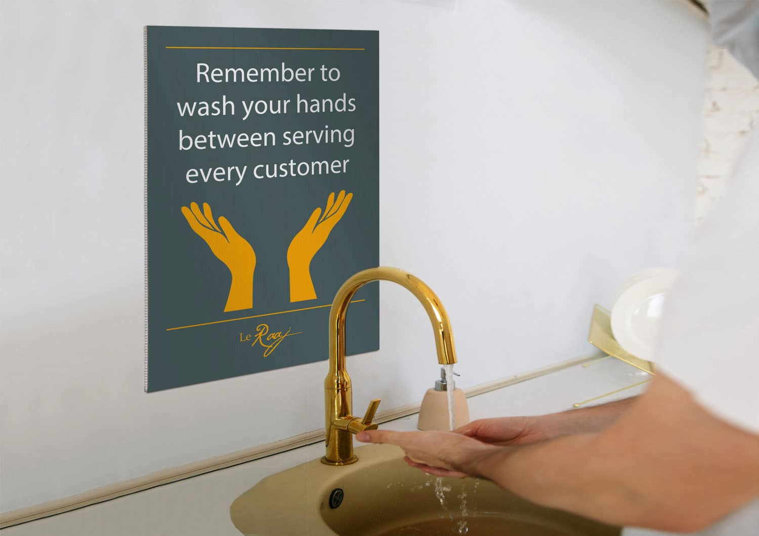 Hand Washing Sign