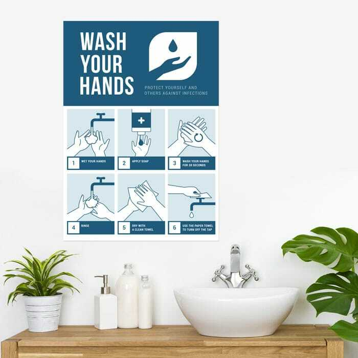 Poster Wash Your Hands