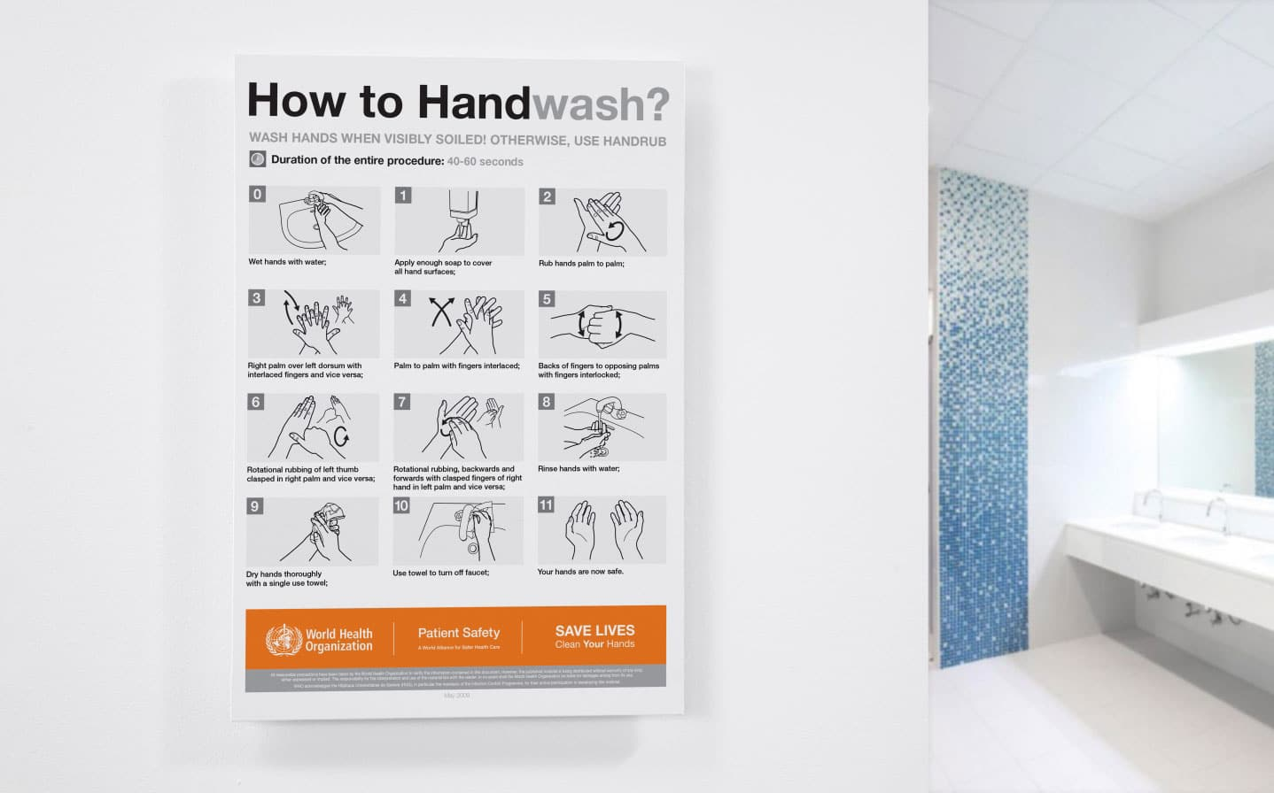 Signs Handwashing