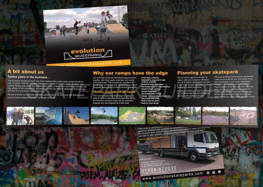 6pp A6 Landscape Folded Leaflet Design And Print