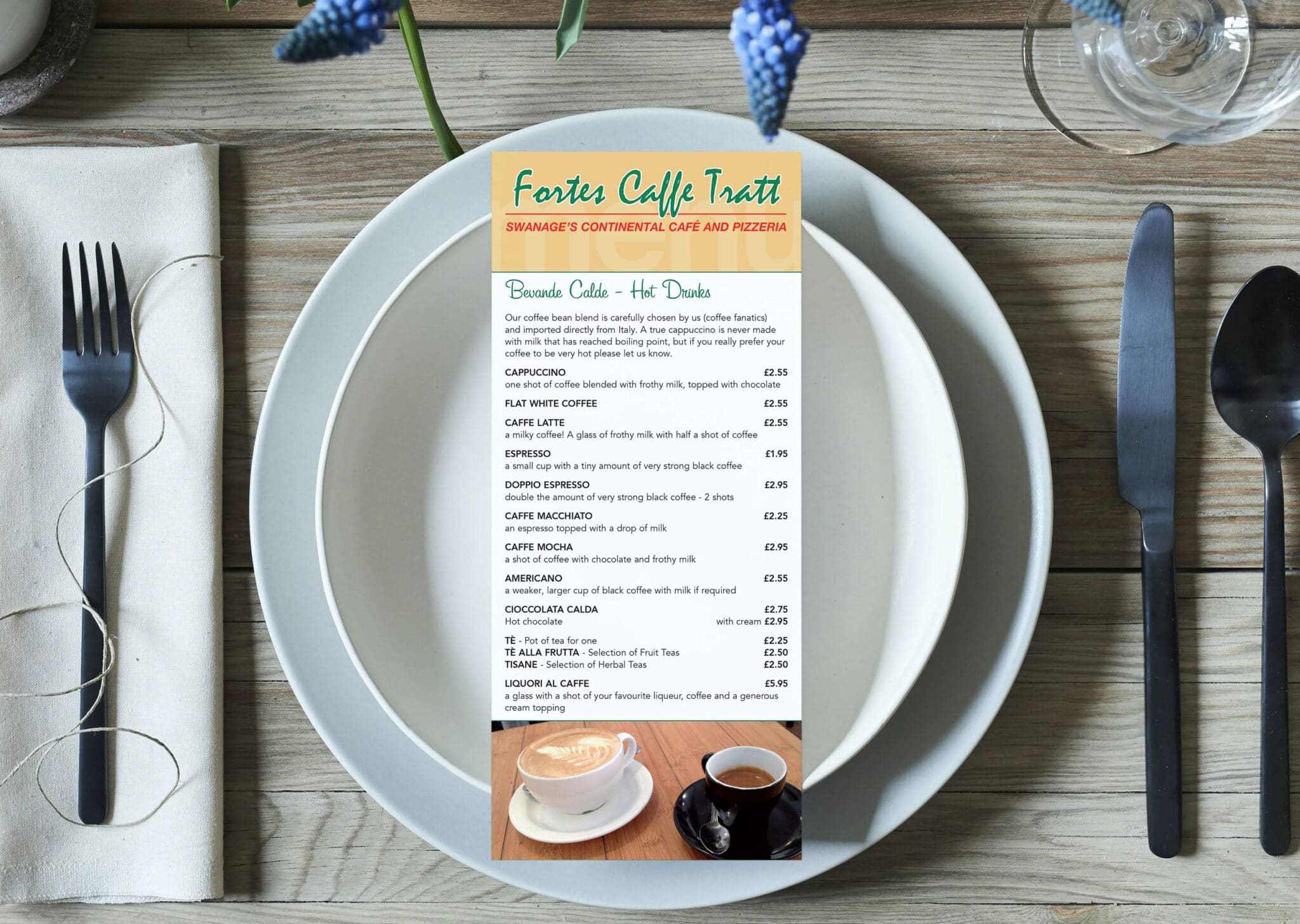 6pp Dl Menu Design And Print
