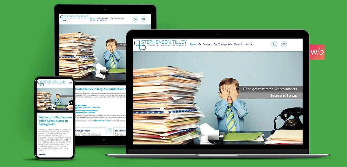 Accountants Firm Without Code Website Design