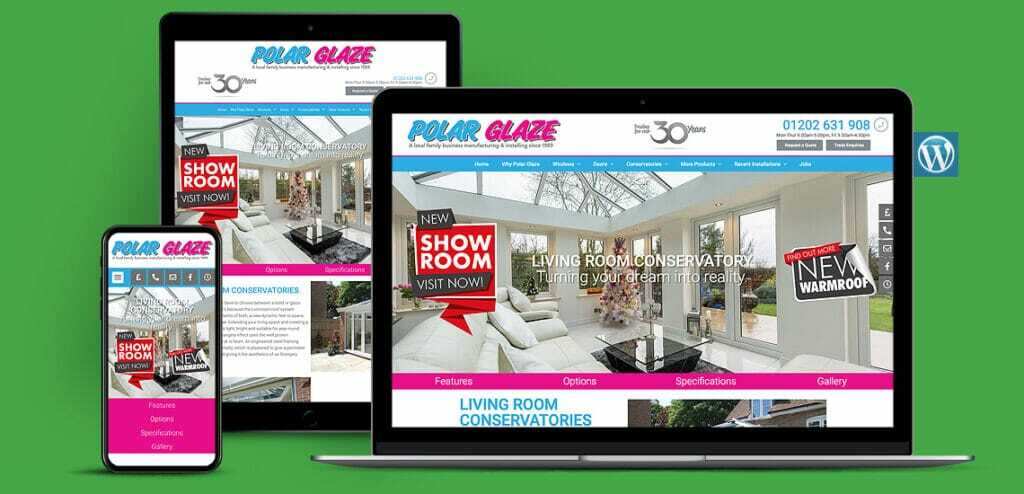 Home Improvement Company WordPress Website Design