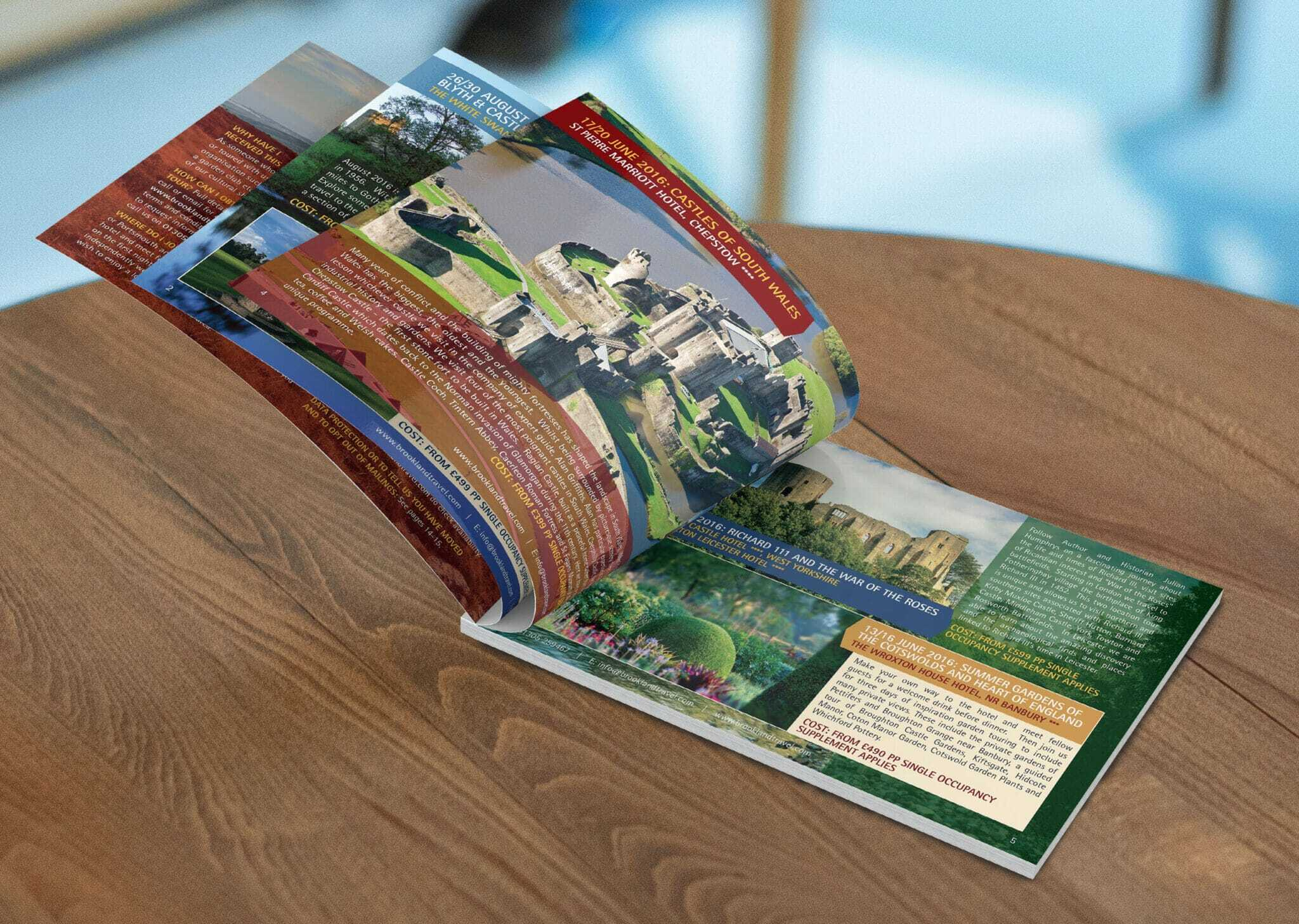 Landscape Holiday Brochure Design And Print V2