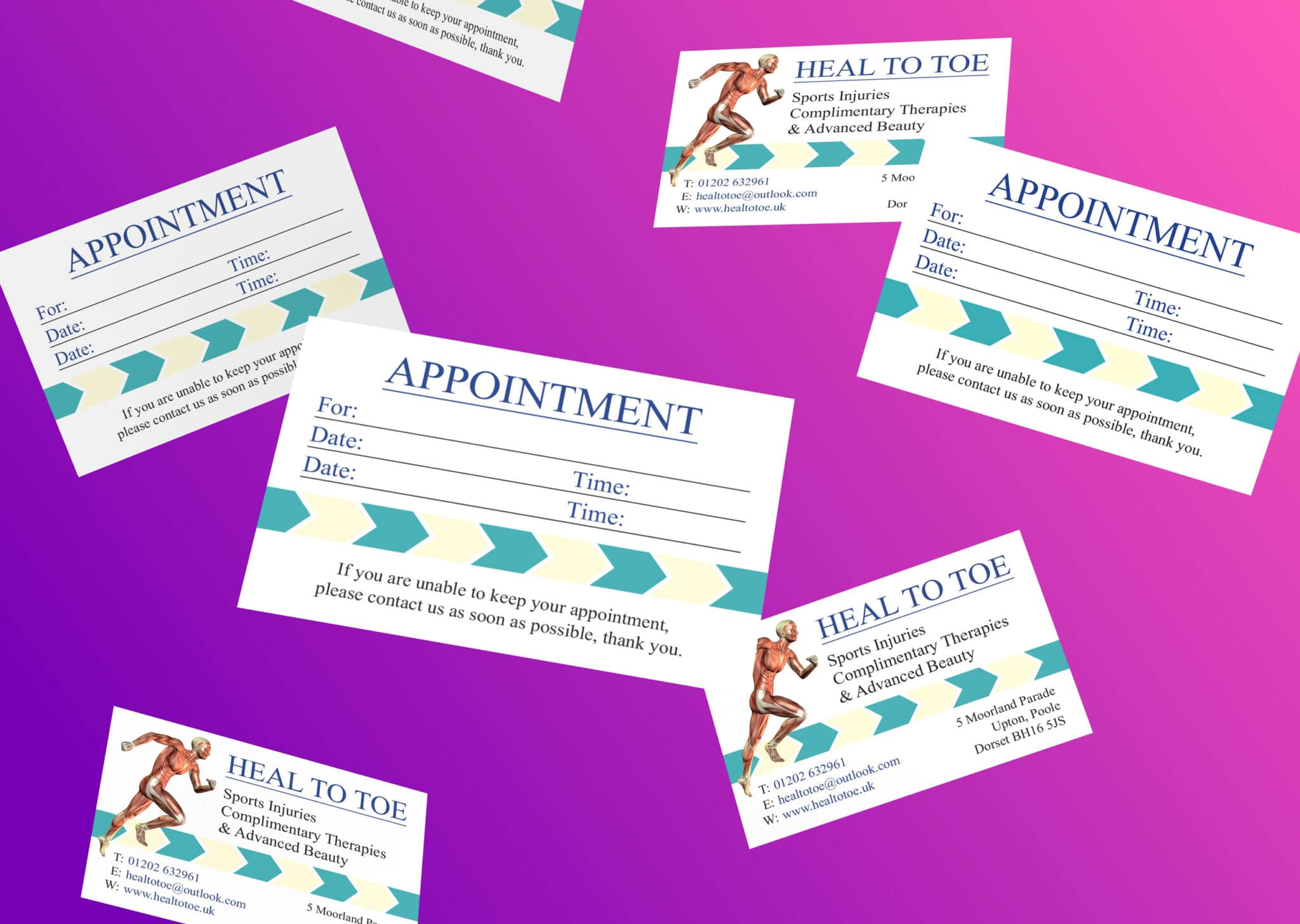 Appointment Card Design And Print
