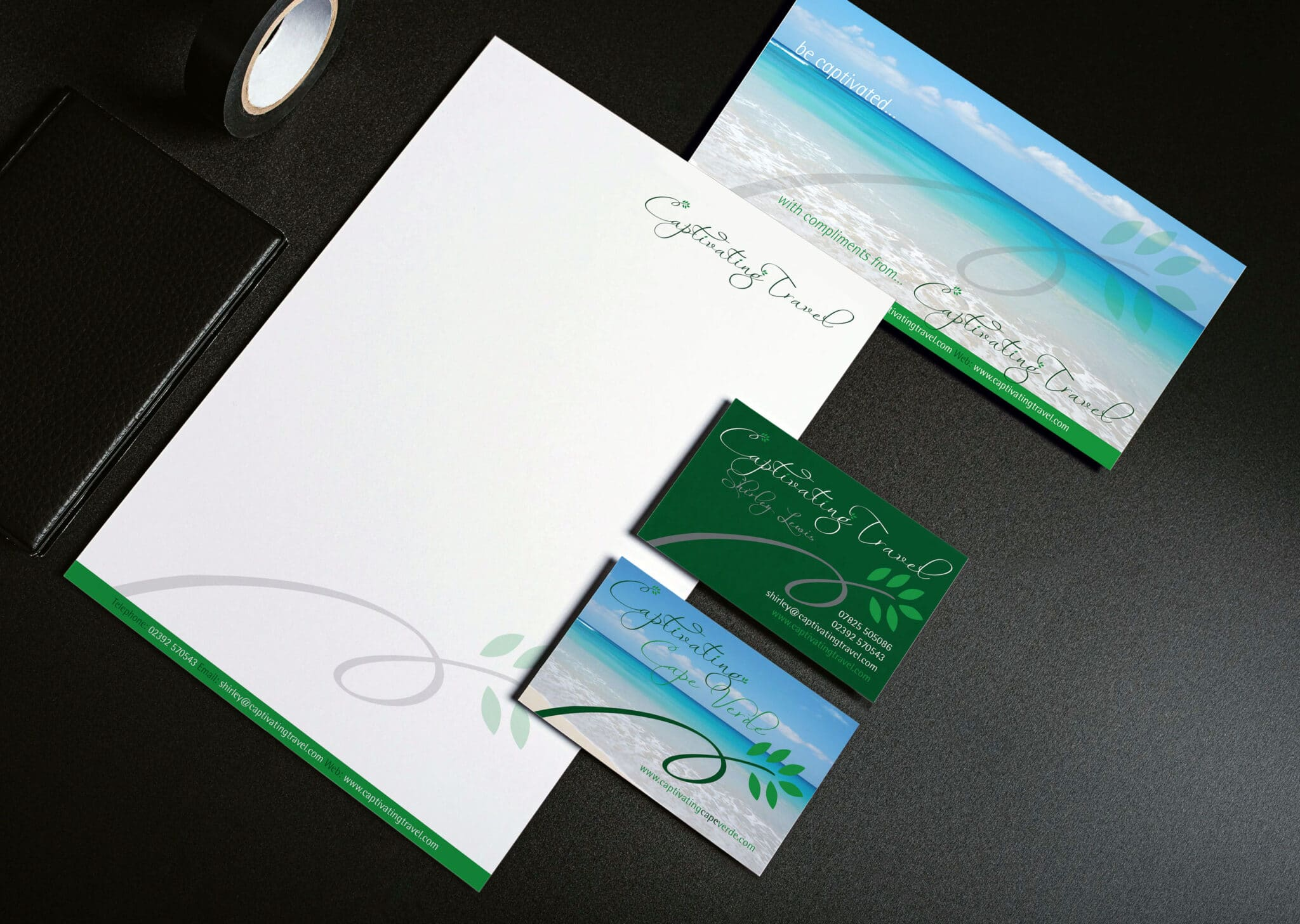 Corporate Branding And Complete Stationery Design And Print