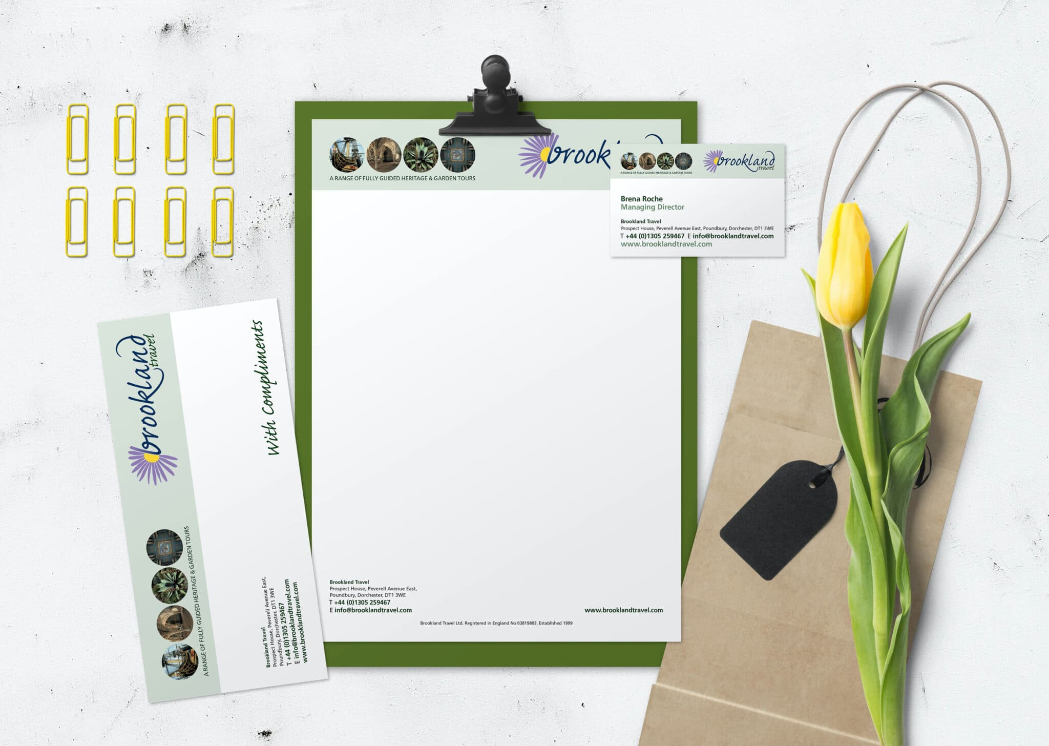 Corporate Branding And Full Stationery Design And Print