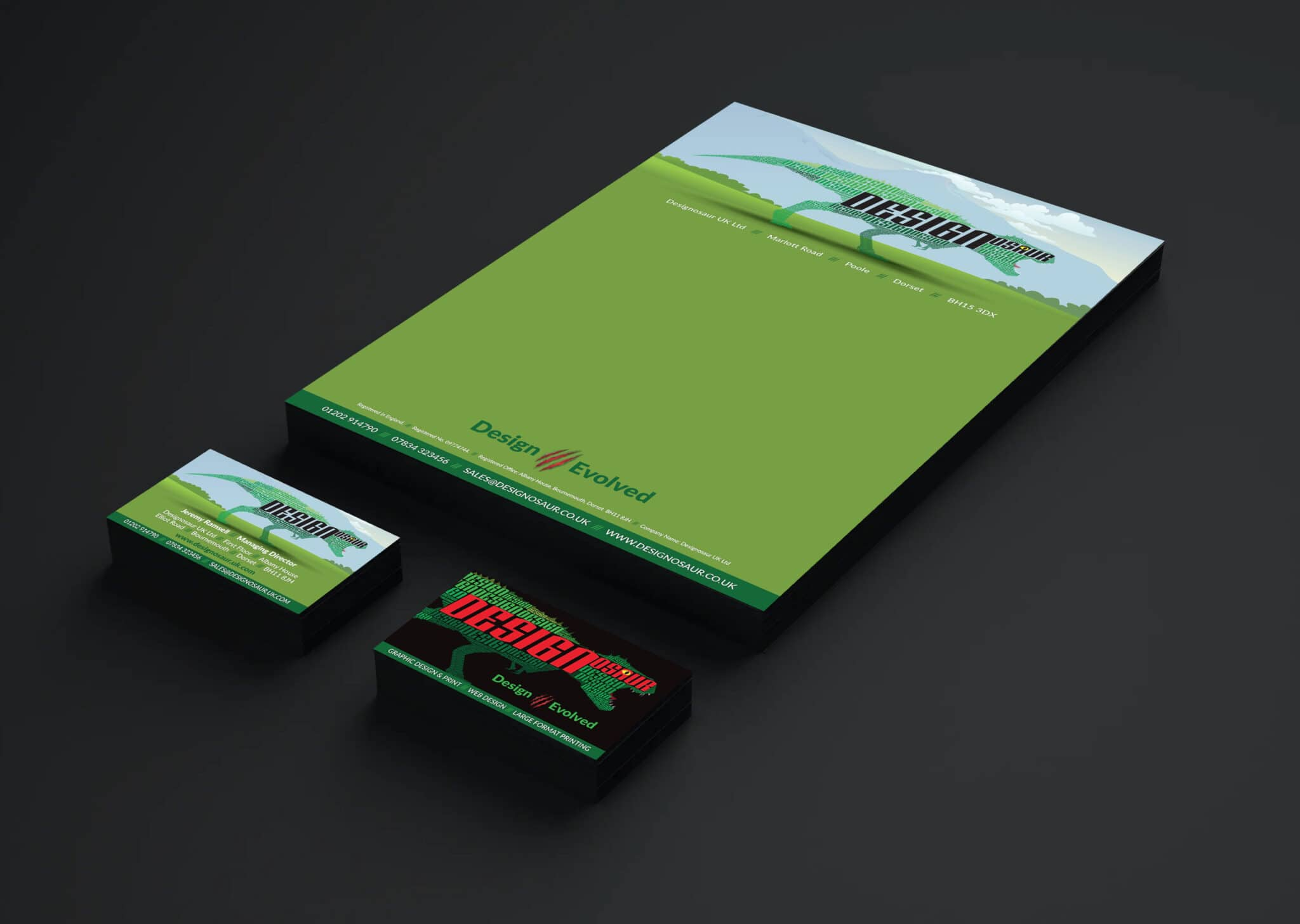 Corporate Branding And Letterhead Design And Print