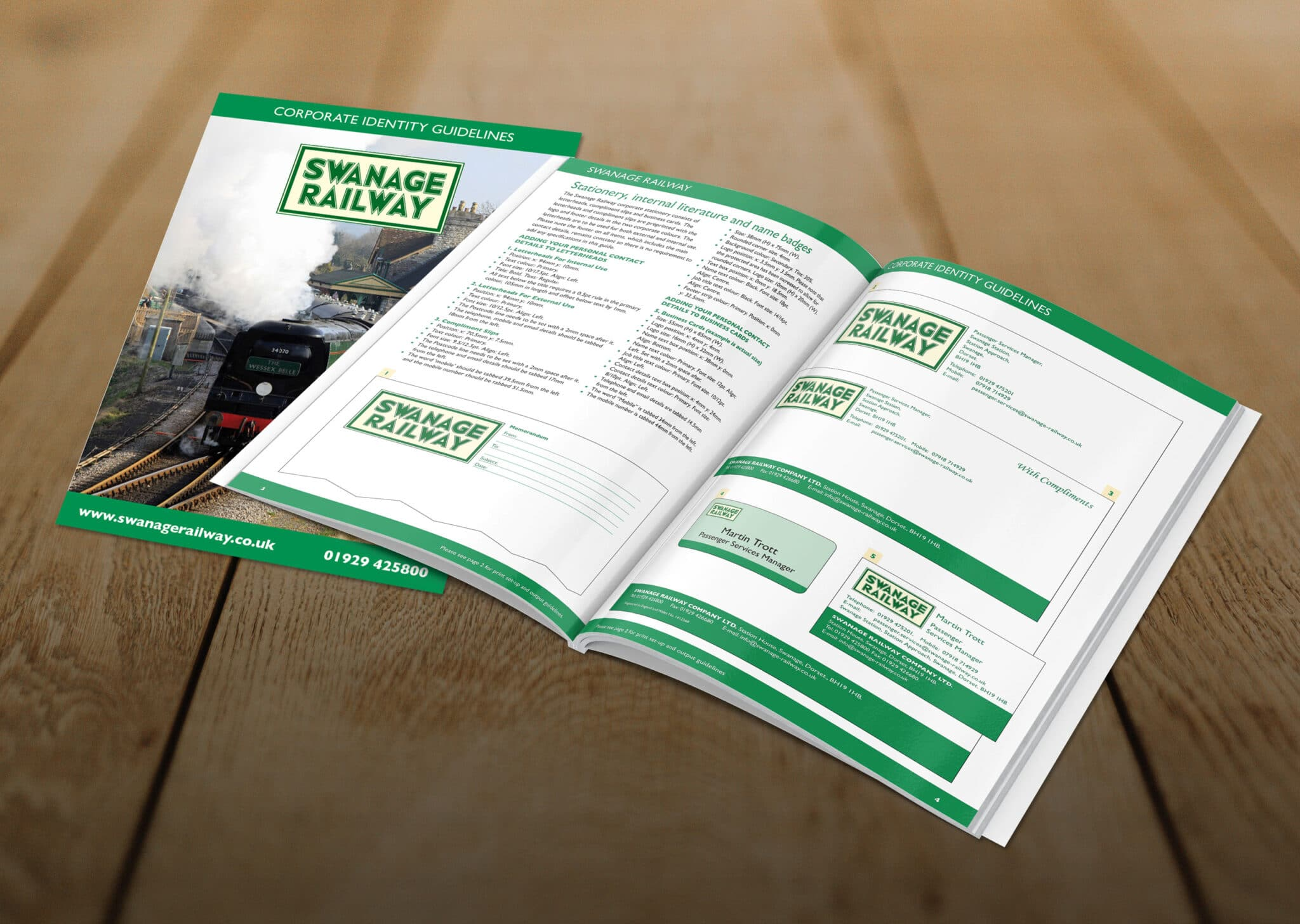 Corporate Guidelines Design And Print