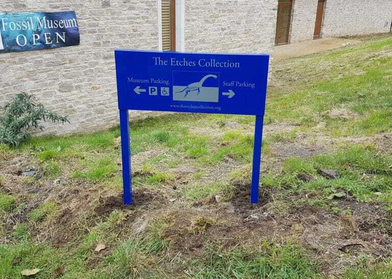 External Sign Design Print And Installation