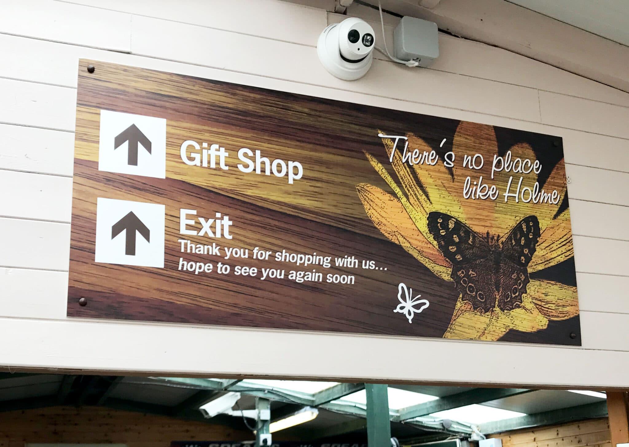 Indoor Sign Design Print And Installation