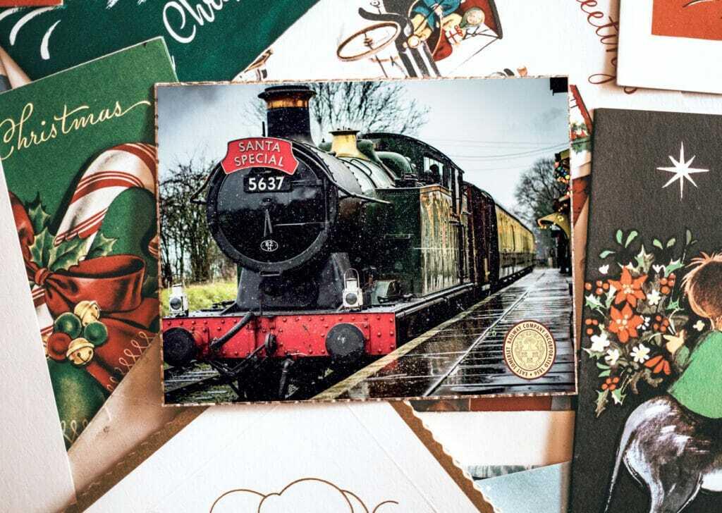Landscape Christmas Card Design And Print