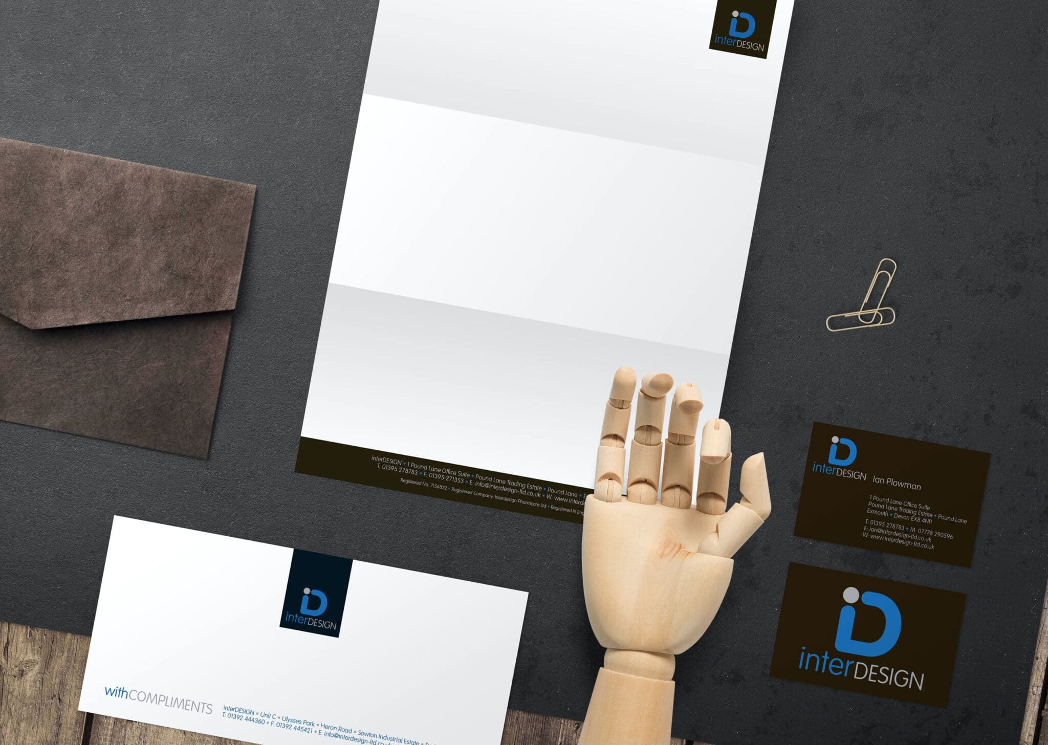 Logo Design And Complete Stationery Design And Print