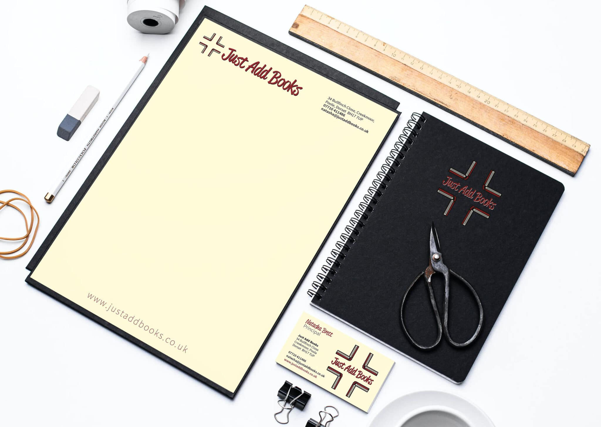 Logo Design Note Pad And Stationery Design And Print