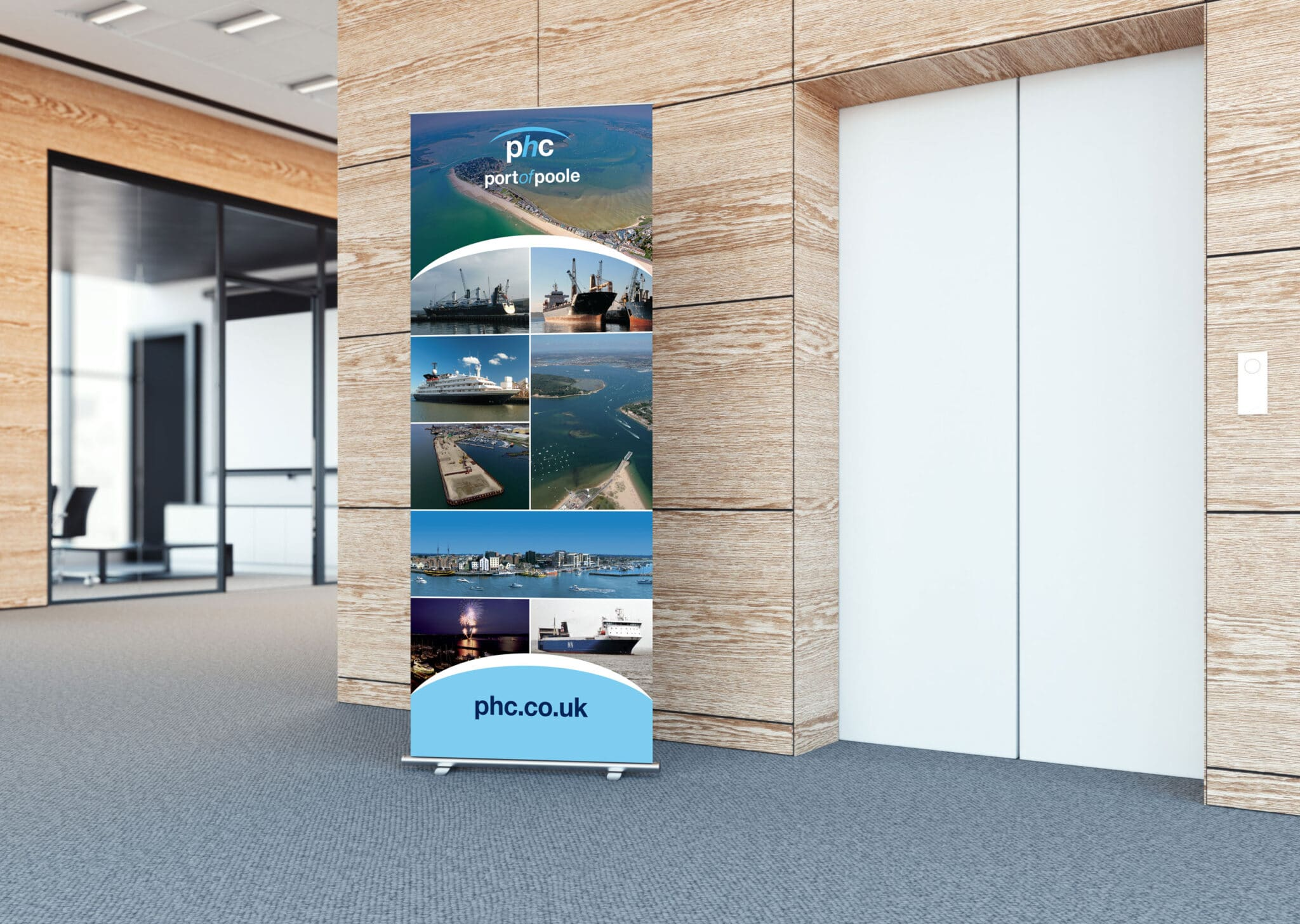 Standard 800mm Roll Up Banner Design And Printing