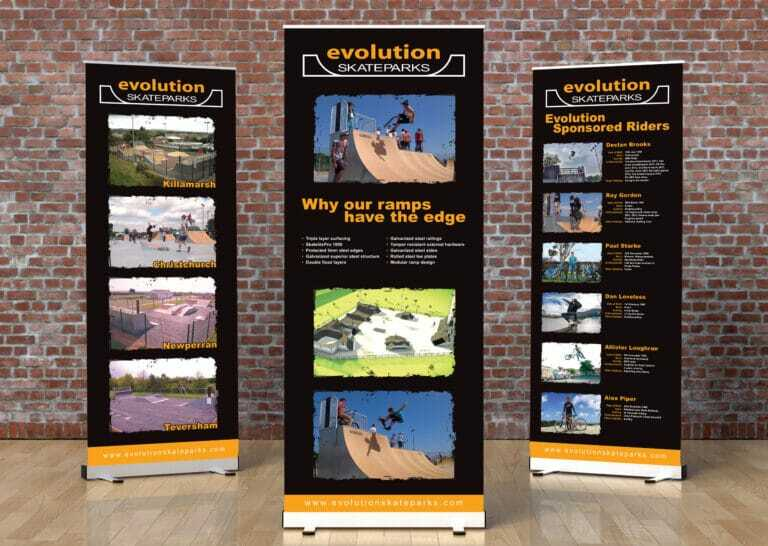 Standard Roll Up Banner Design And Printing