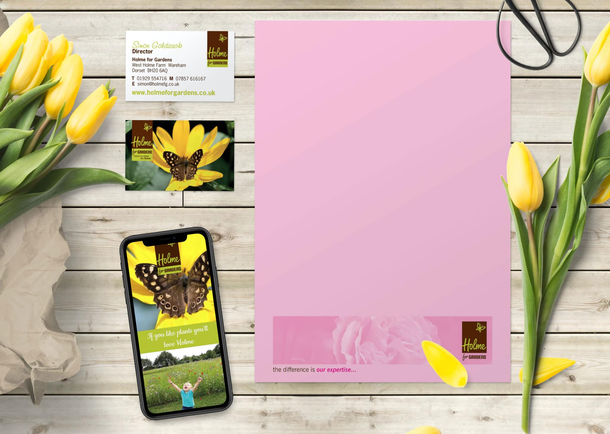 Stationery Design And Print And Website Design