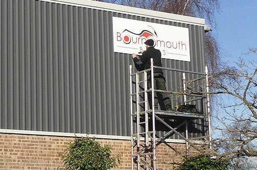 Corporate Signage Installation