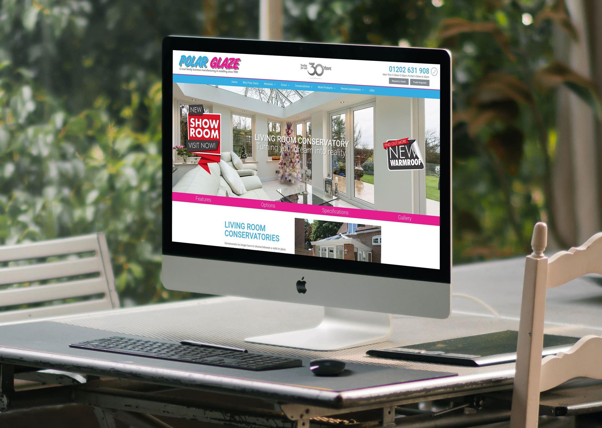 Designosaur Wordress Website Design Banner Polar Glaze 2048x1456px