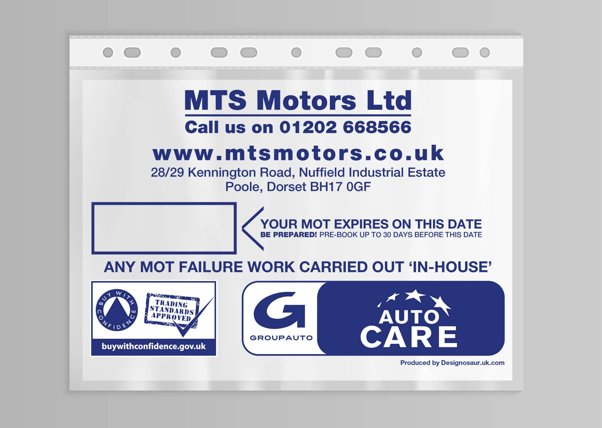 A Z Design And Print Services Mot Certificate Wallets