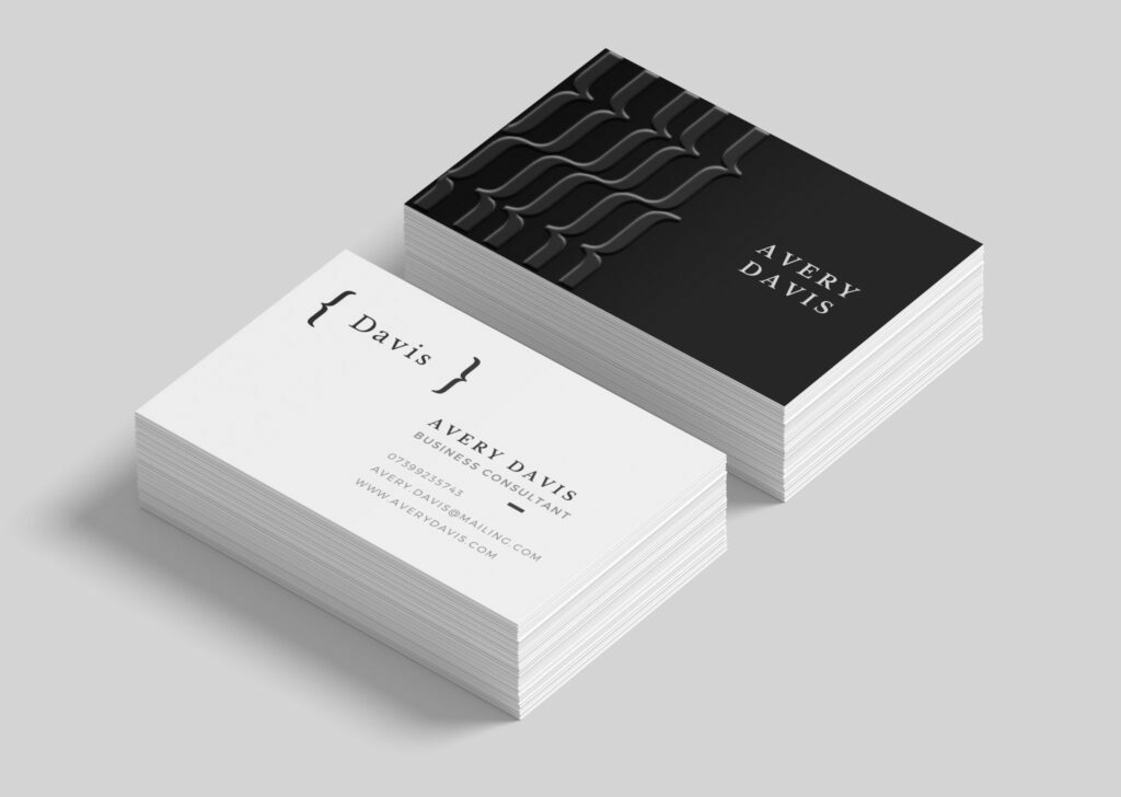 A Z Design And Print Services Scodix Business Card Printing