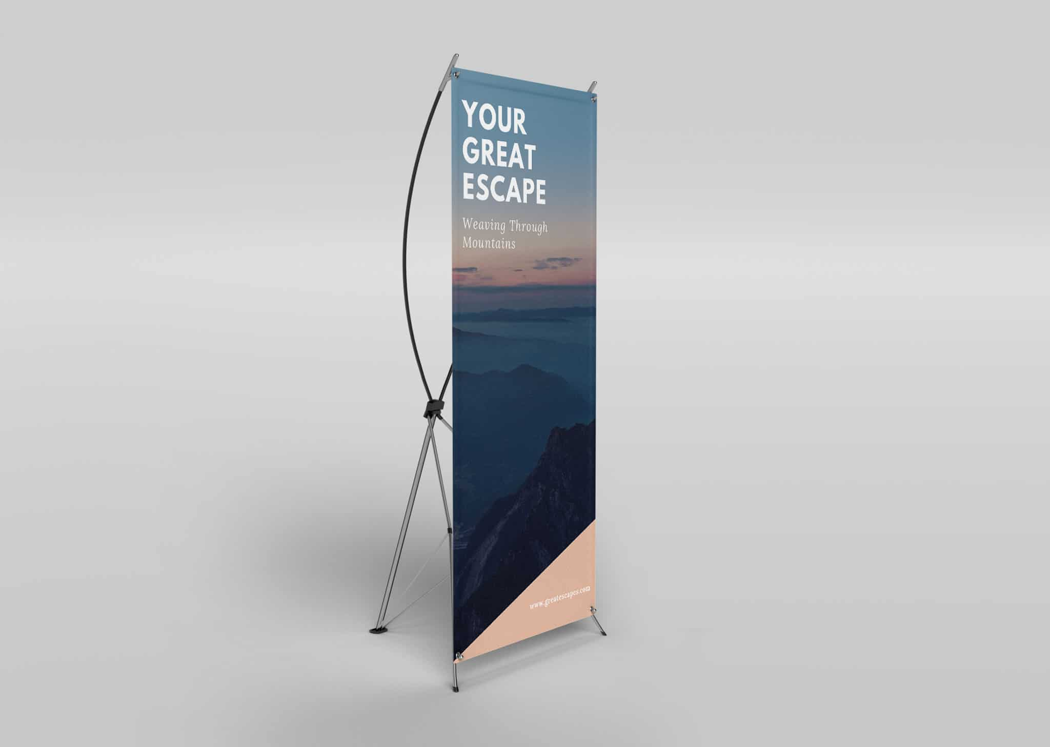 A Z Design And Print Services X Stand Banner