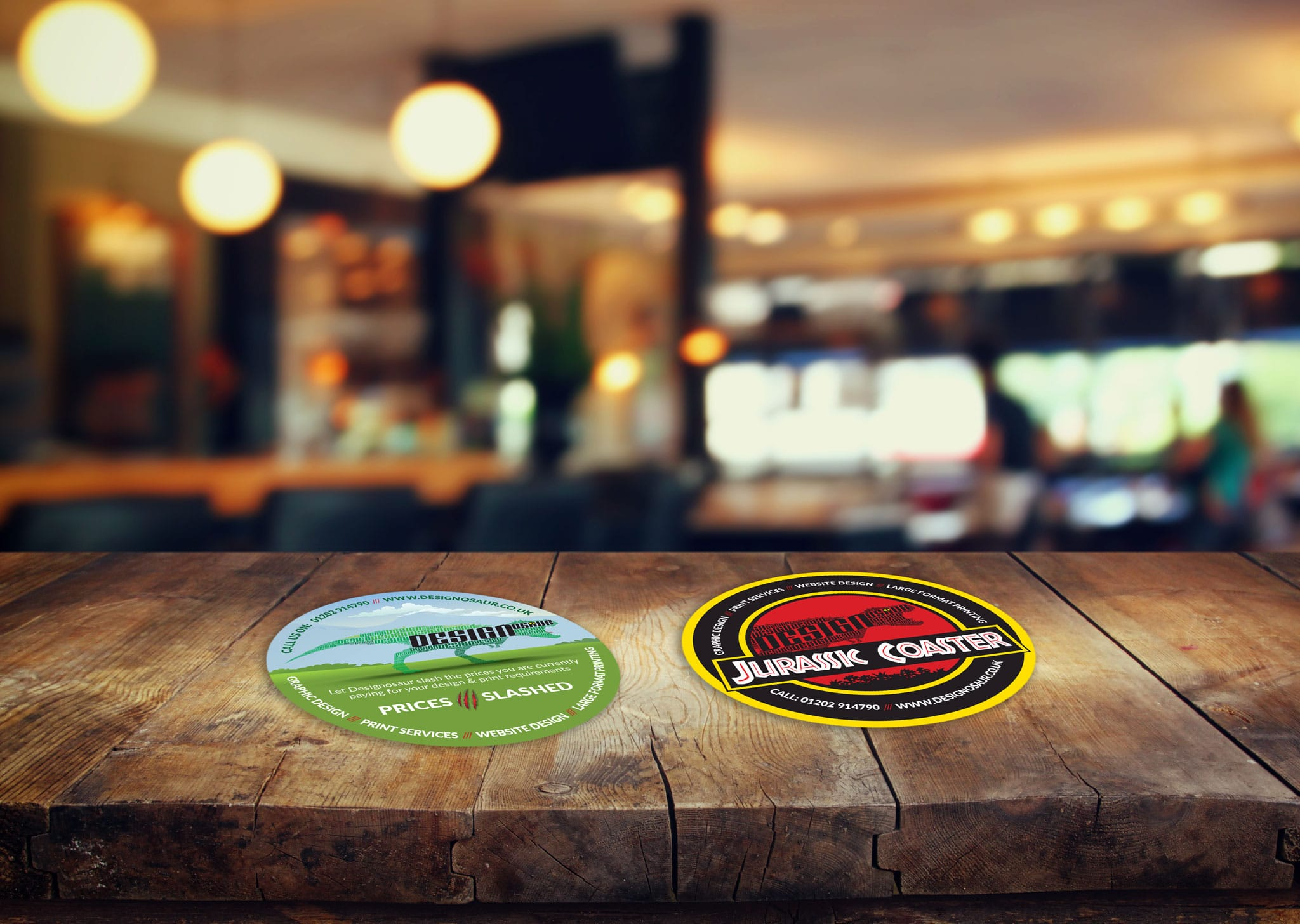 A Z Design And Print Services Beer Mats