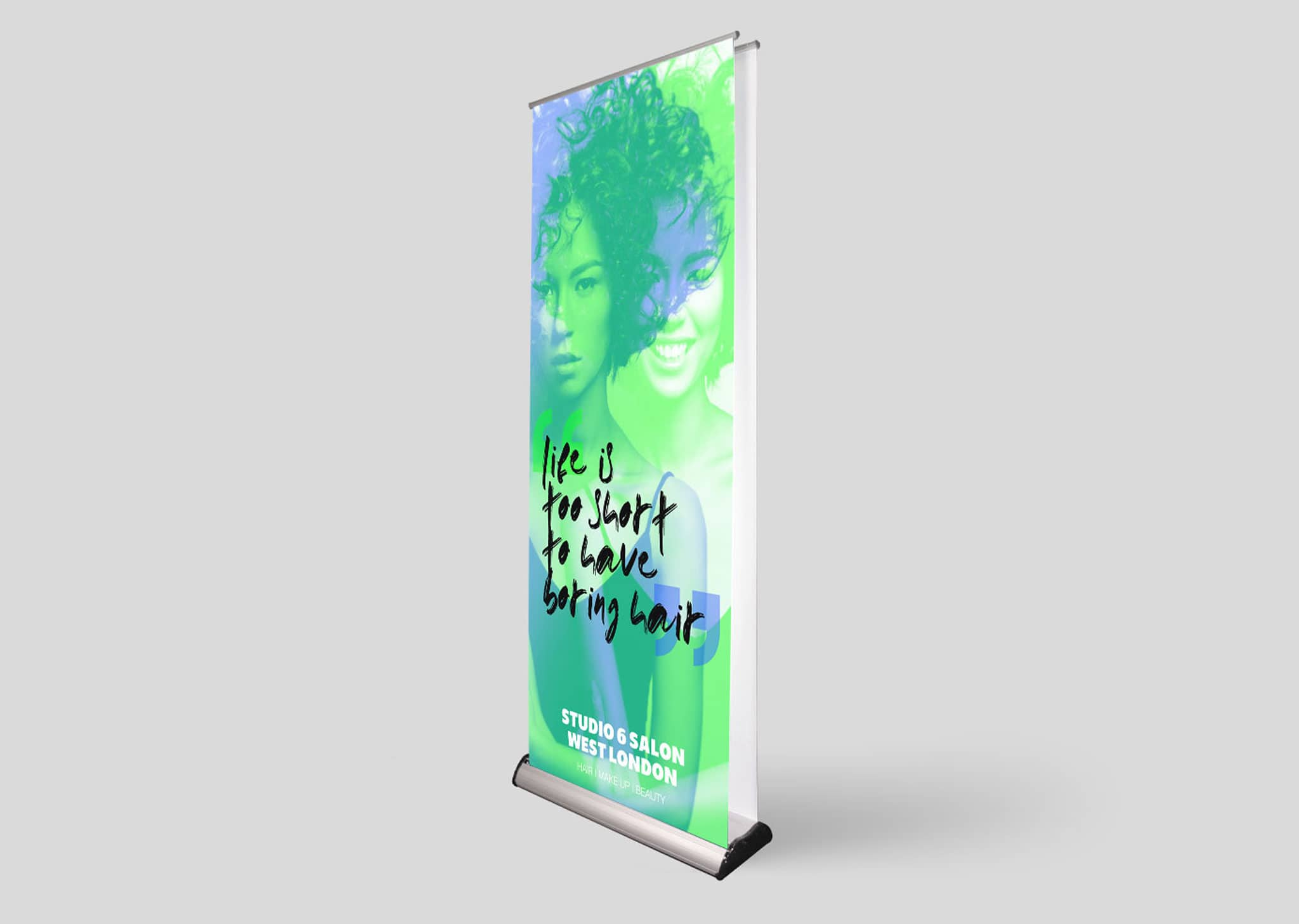 A Z Design And Print Services Double Sided Roll Up Banners