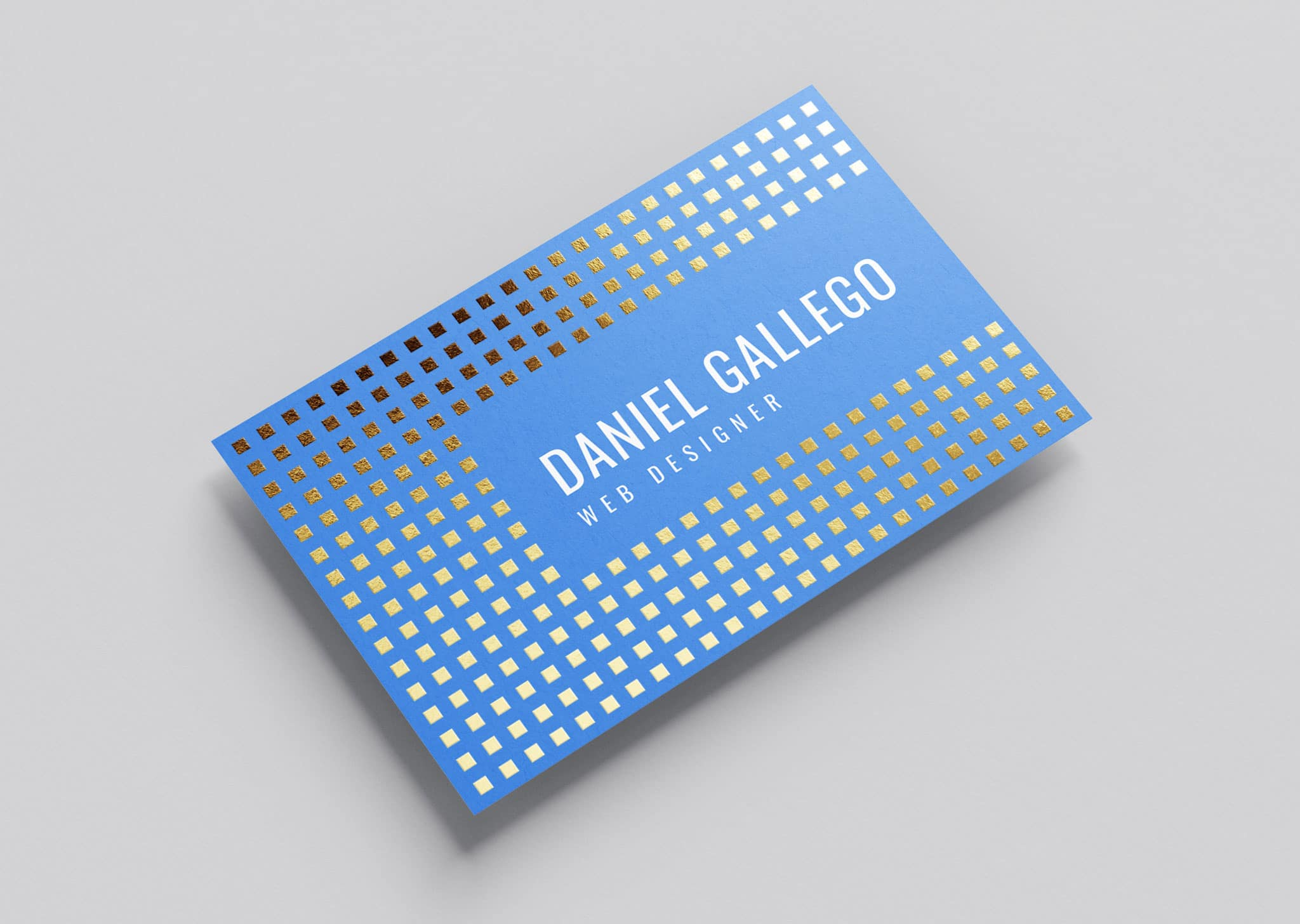 A Z Design And Print Services Foil Business Cards