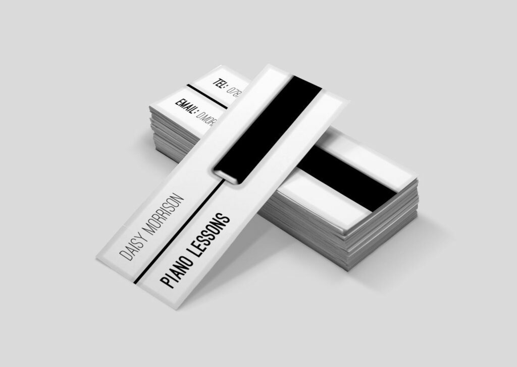 A Z Design And Print Services Mini Business Card Printing