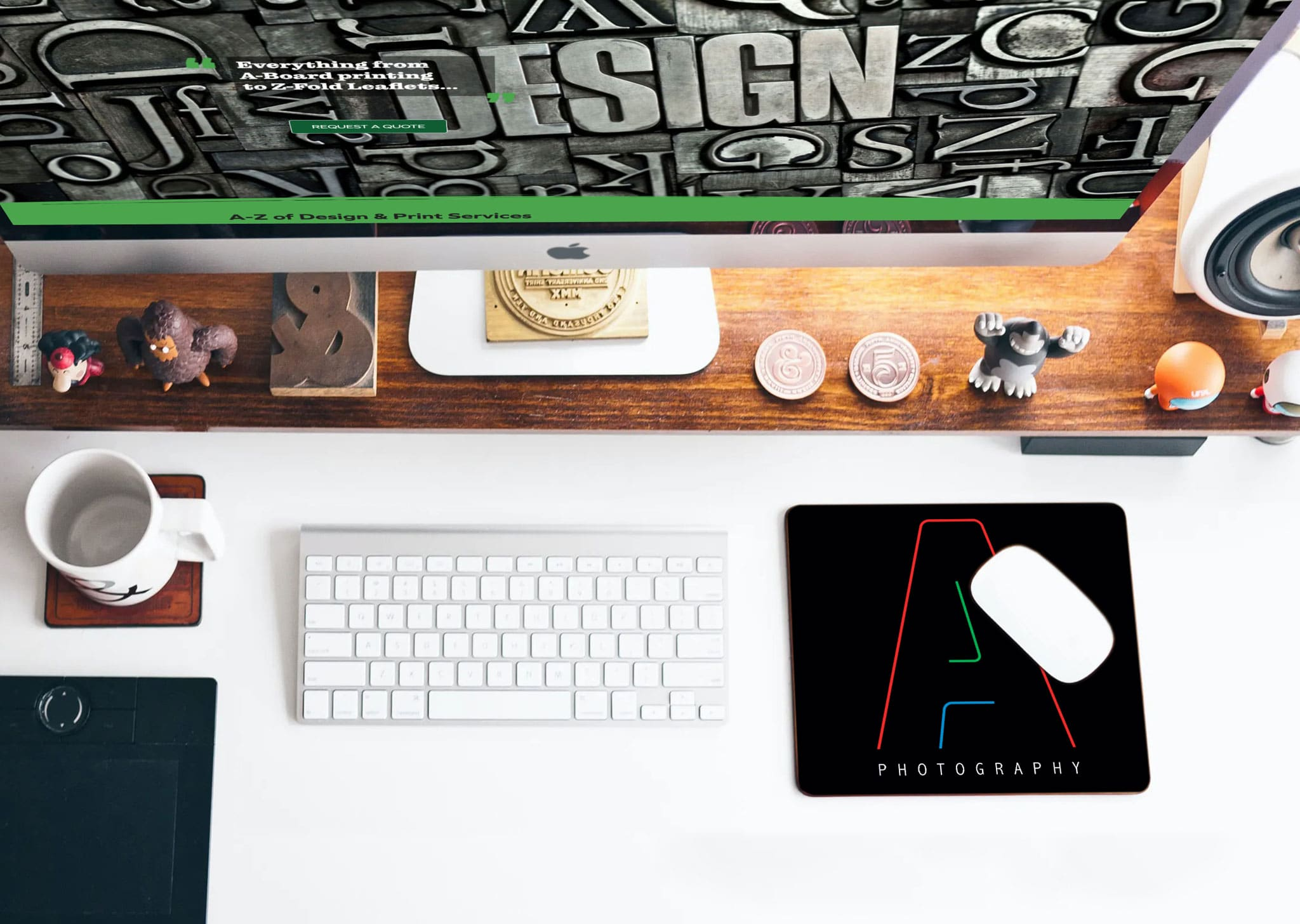 A Z Design And Print Services Mouse Mat Printing