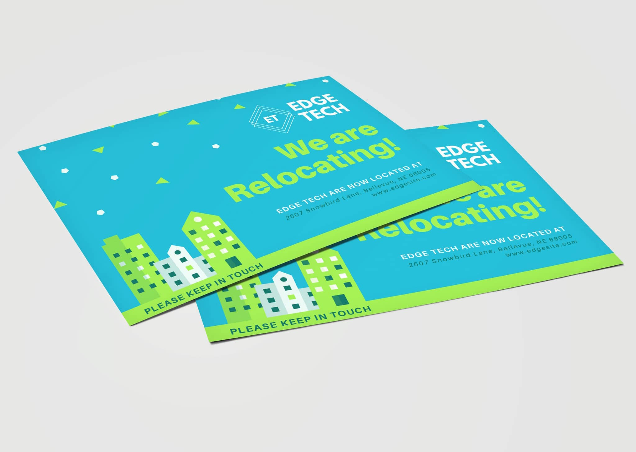 A Z Design And Print Services Moving Cards