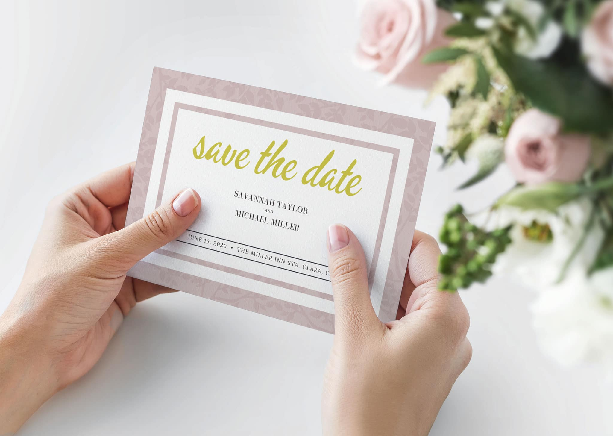 A Z Design And Print Services Save The Date Cards