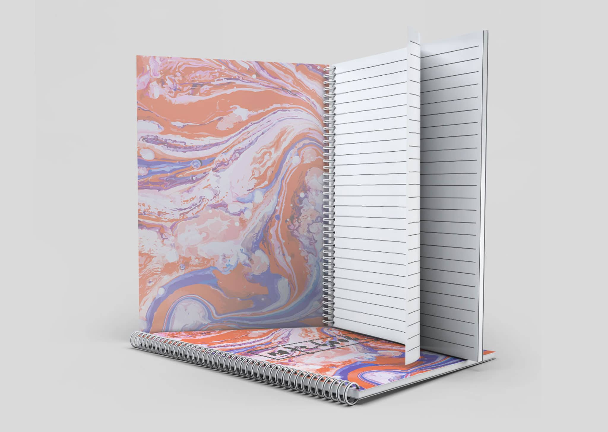 A Z Design And Print Services Wiro Bound Notebook Printing