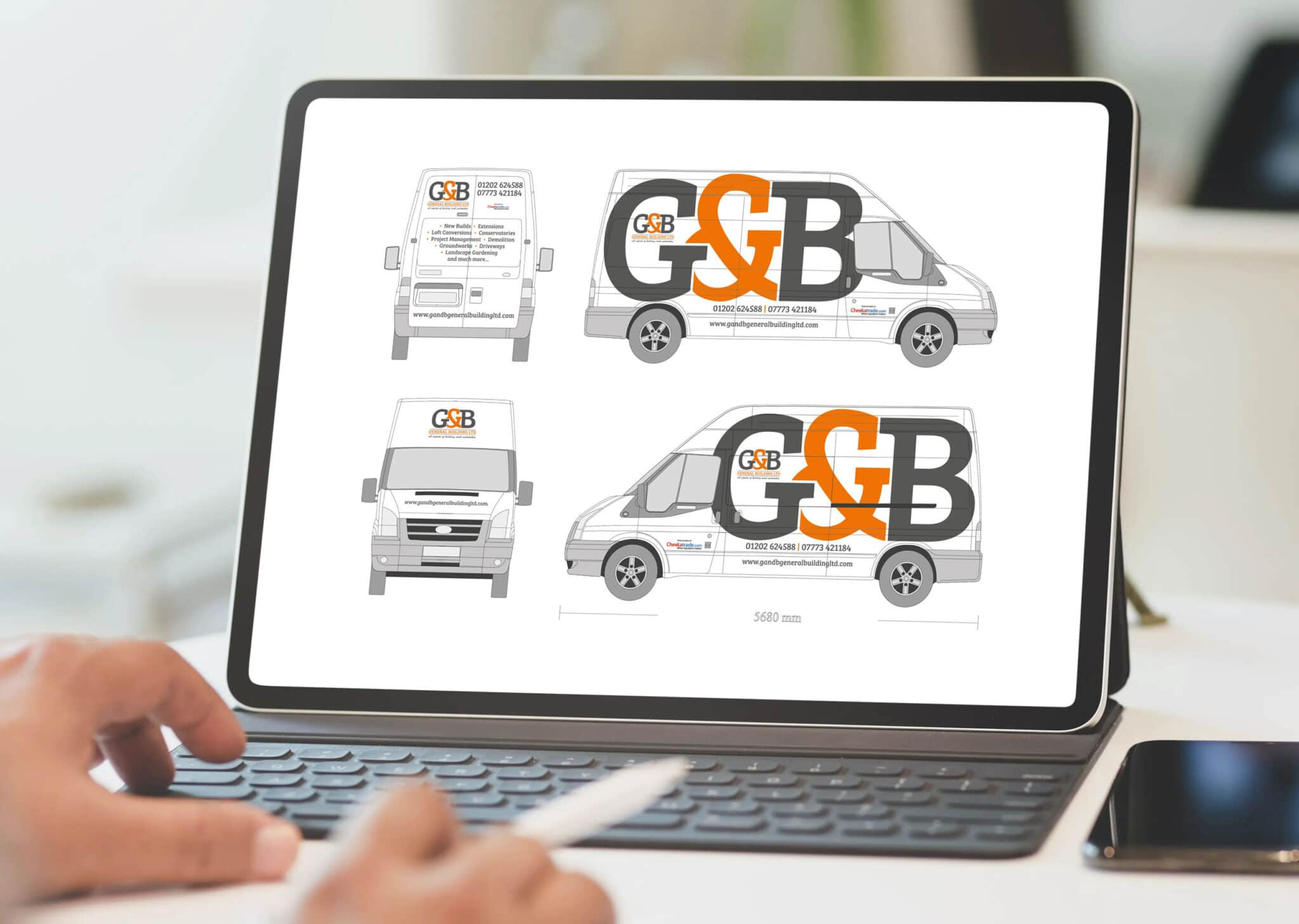 Vehicle Graphics Design Concepts Ipad