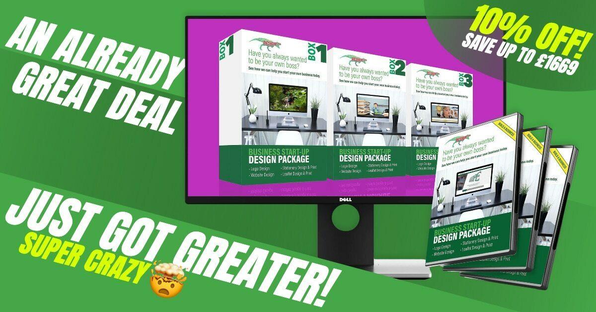 Business Start Up Design Packages Facebook Advert
