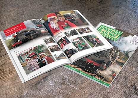 swanage railway magazine design and print465px