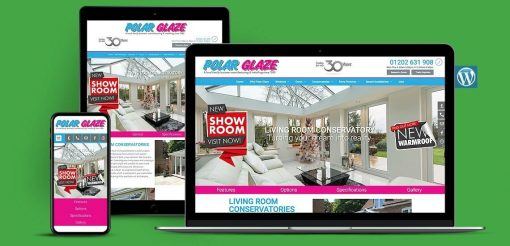 Home Improvement Company WordPress Website Design